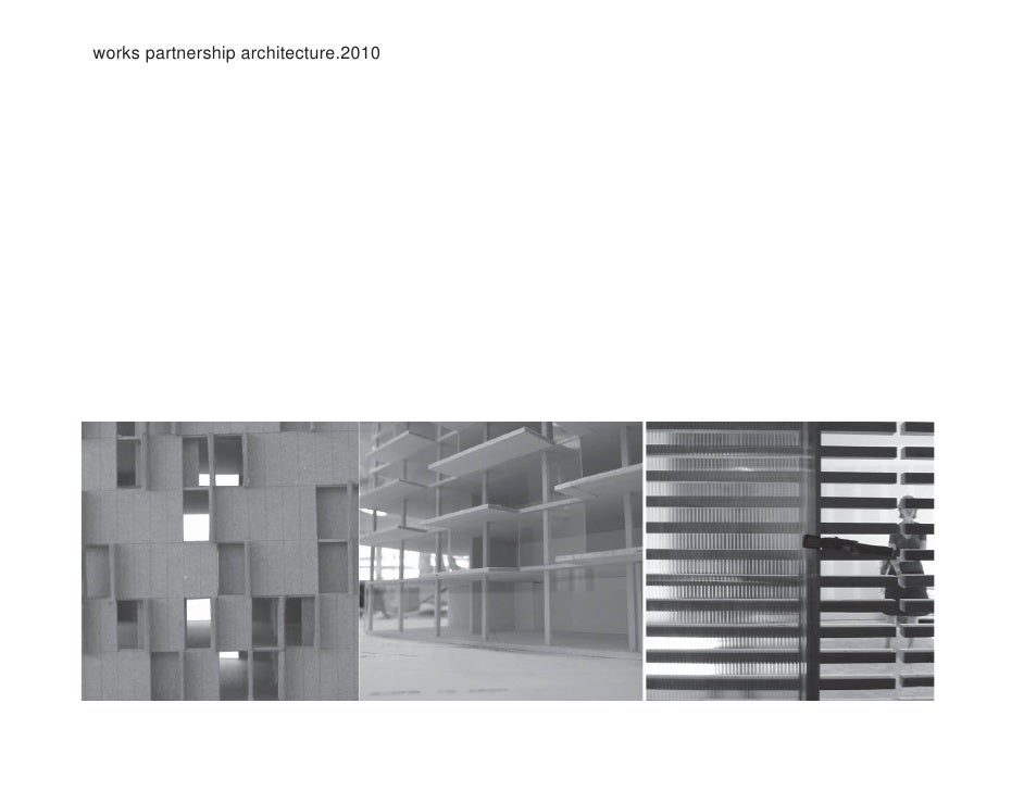 """""""Skin, Frame and Sustainability"""" by Works Partnership Architecture"""