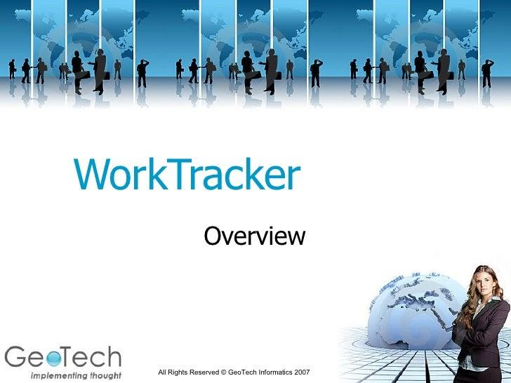 WorkTracker Overview