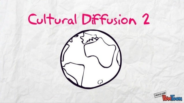 cultural diffusion in education With the introduction of computer based education into the brazilian culture, the process of cultural diffusion and the problems and prospects for success can be seen.