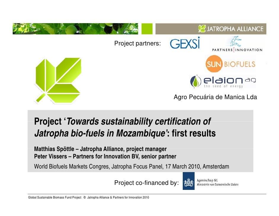 Project partners:                                                                                             Agro Pecuári...