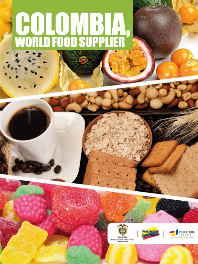Colombia, world food supplier
