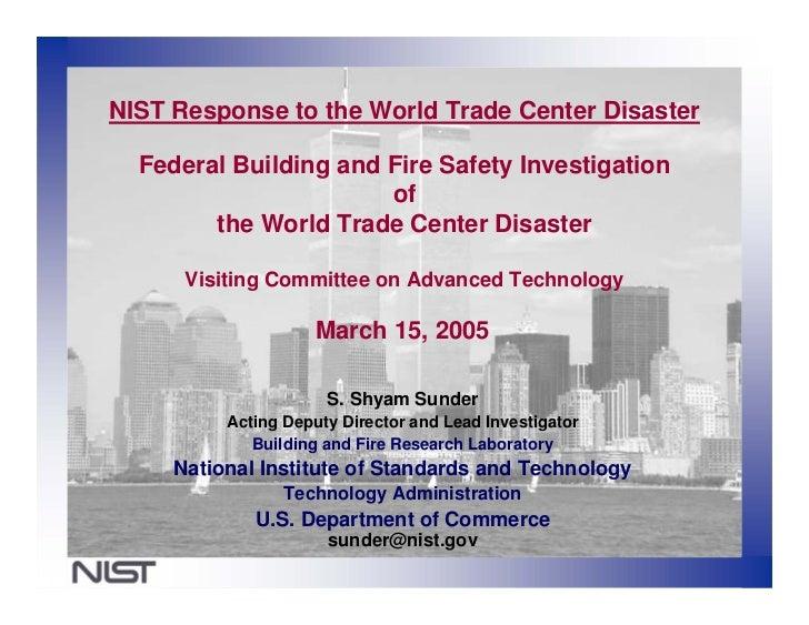 World Trade Center Investigation