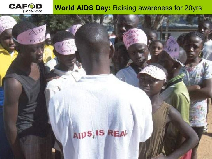 World AIDS Day:  Raising awareness for 20yrs