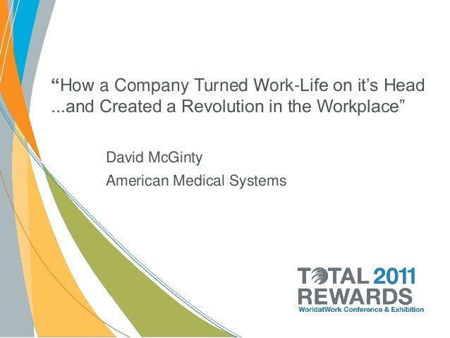 """How a Company Turned Work-Life on it's Head...and Created a Revolution in the Workplace""      David McGinty      American..."