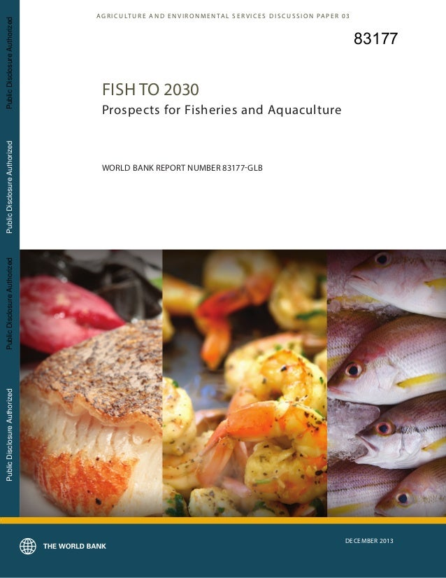 Dr Dev Kambhampati | World Bank - Fish to 2030- Prospects for Fisheries and Aquaculture