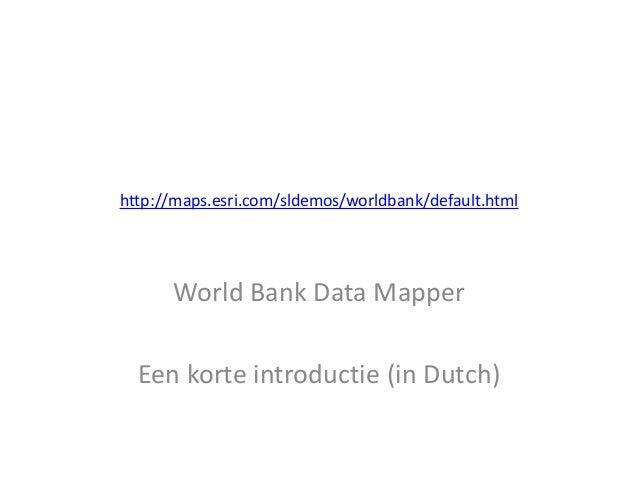 Worldbankdatamapper