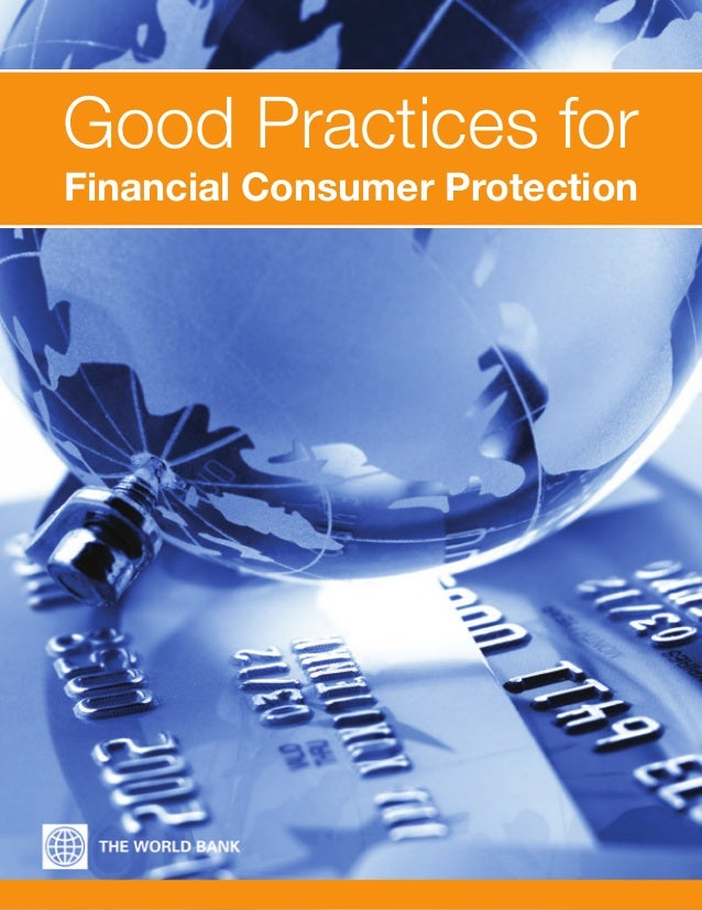 Good Practices for Financial Consumer Protection