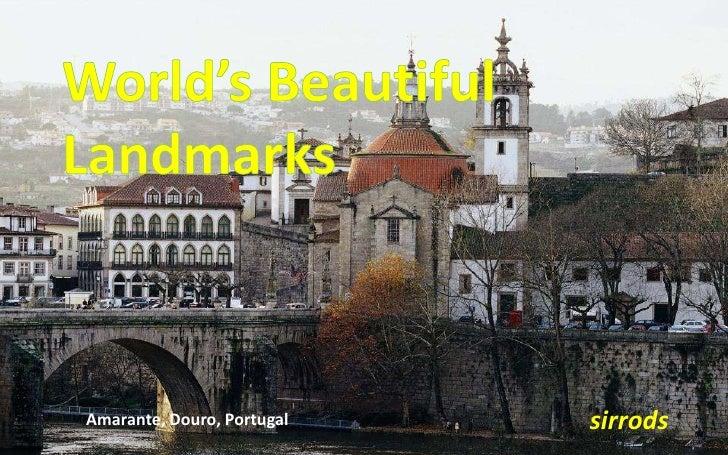 World beautiful landmarks