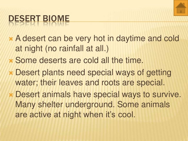 World Biomes Animals And Plants