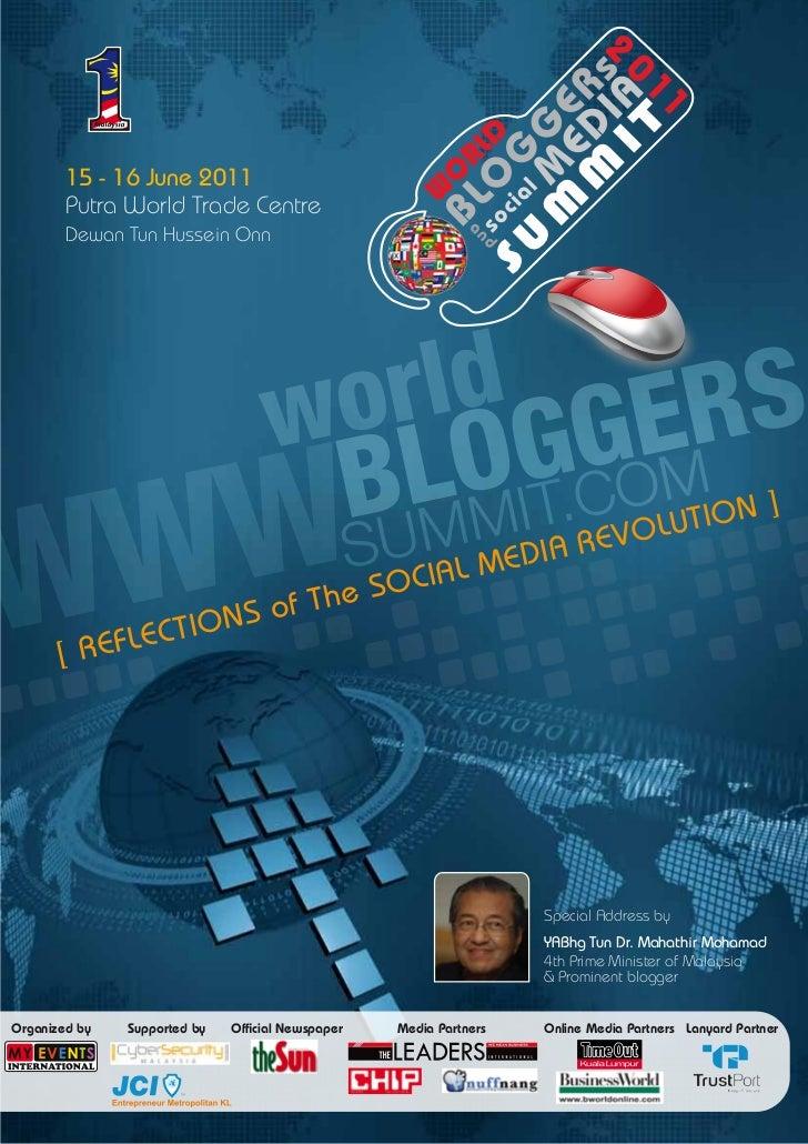 World Bloggers & Social Media Summit 2011 - Brochure