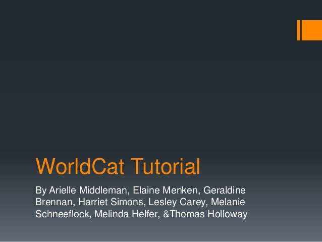 World cat powerpoint_oct_2012_changed 4
