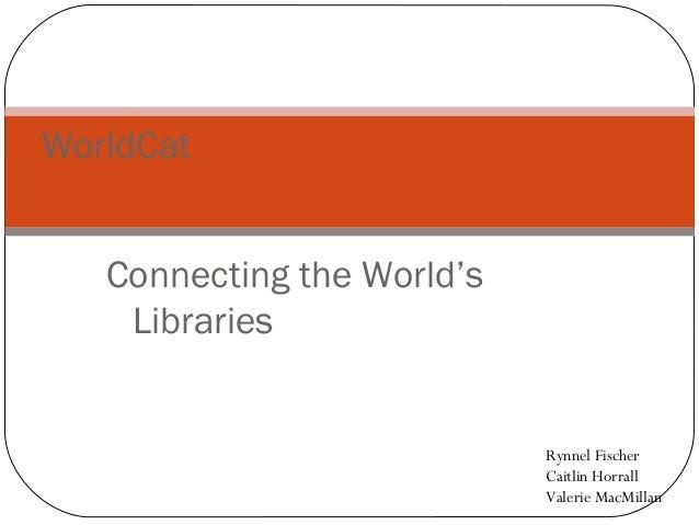 WorldCat Presentation