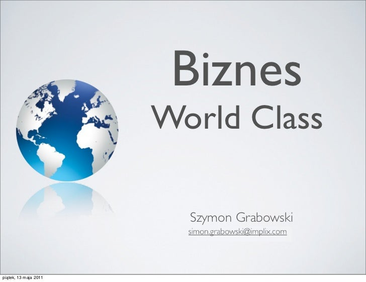 Biznes World Class