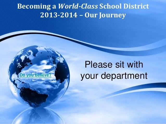 World Class Team Presentation2