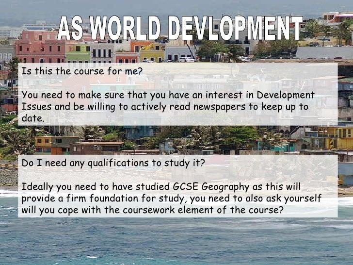 World Development