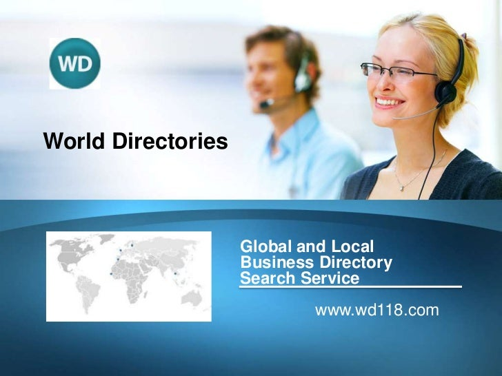World Directories                    Global and Local                    Business Directory                    Search Serv...