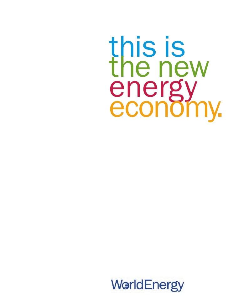 this is the new energy economy.