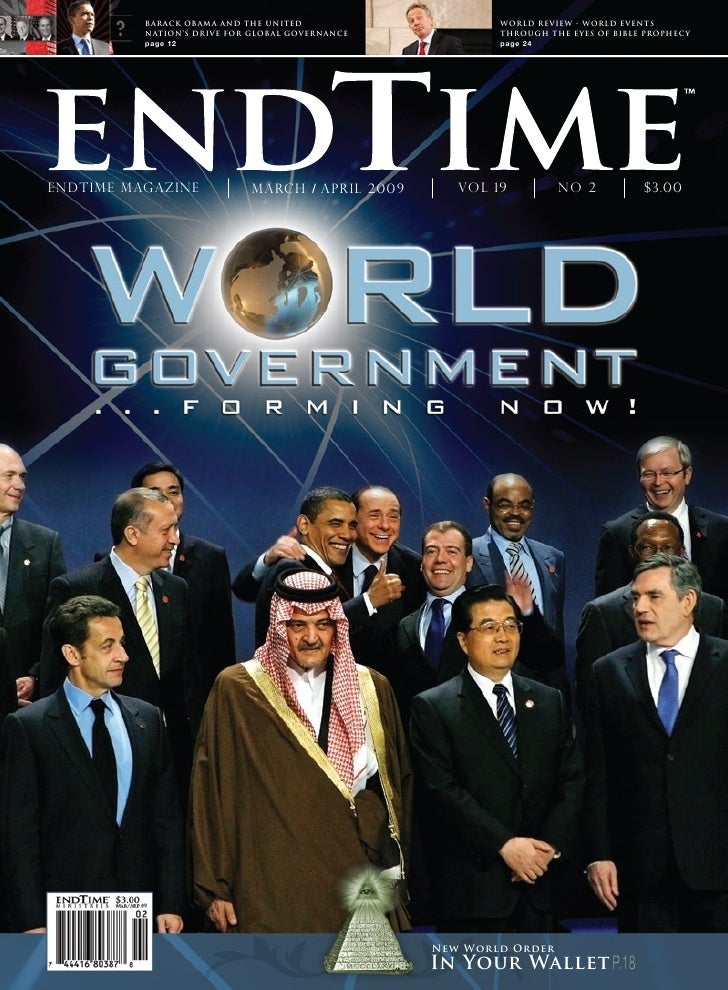 BARACK OBAMA AND THE UNITED                    WORLD REVIEW - WORLD EVENTS           NATION'S DRIVE FOR GLOBAL GOVERNANCE ...