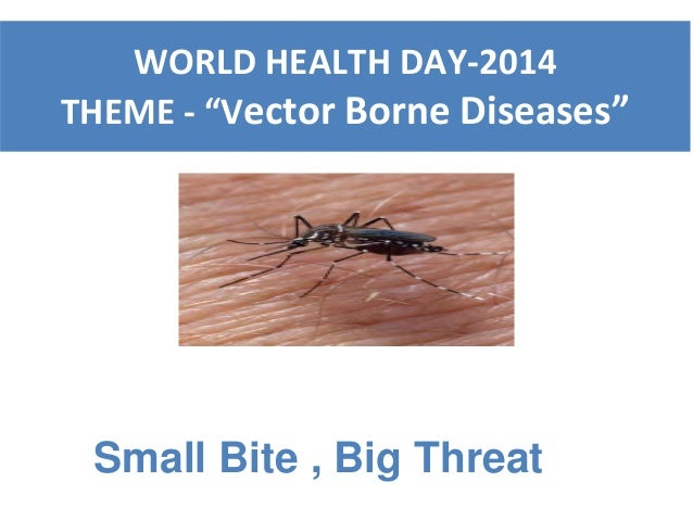 world health day 2014 vector borne ds   dr priya