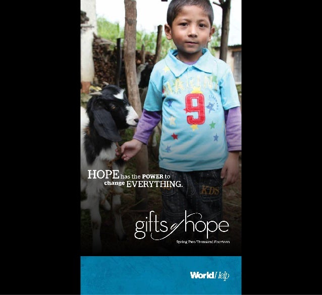 World Help's Gifts of Hope Catalog Spring 2014