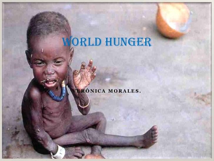 World hunger bueno