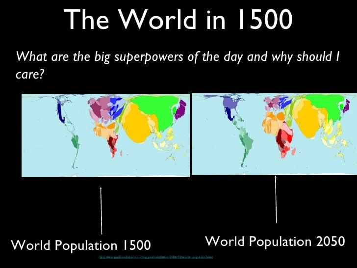 World in 1500 ottoman