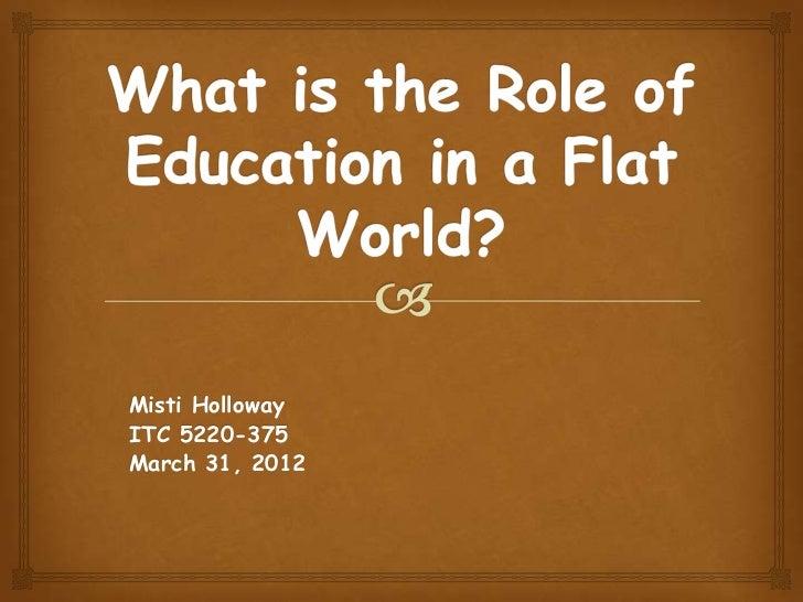 Misti HollowayITC 5220-375March 31, 2012