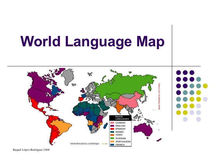 World Language Map