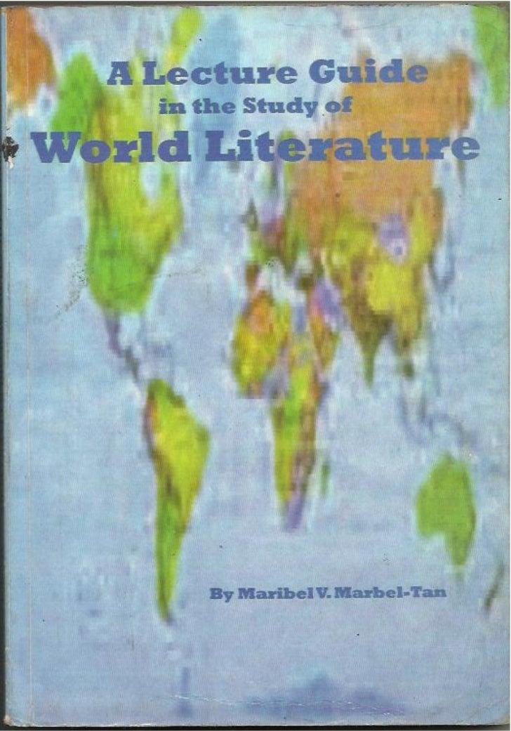 World literature/ Notes