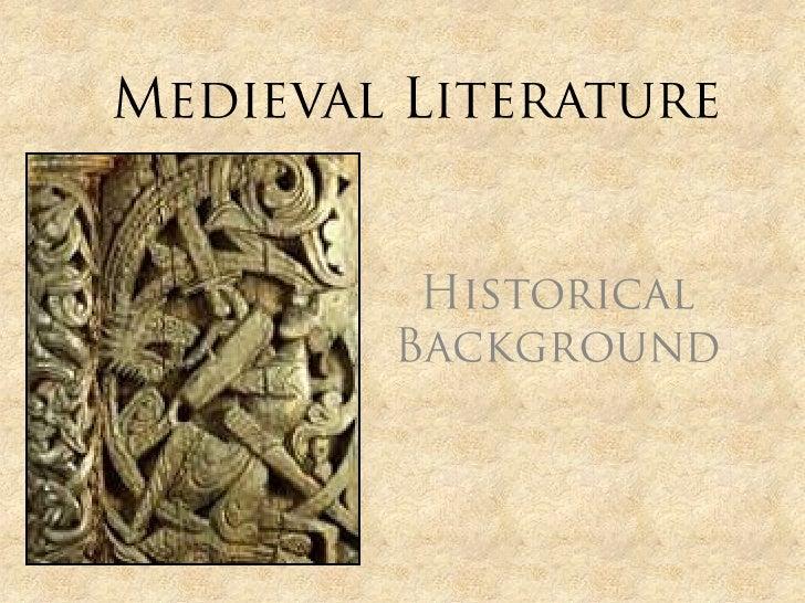 World lLiterature II Middle Ages LIterature