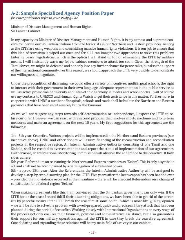 chinas position on disarmament position paper Counterterrorism decolonization united nations disarmament commission china's position paper against international terrorism (2001-09-25.