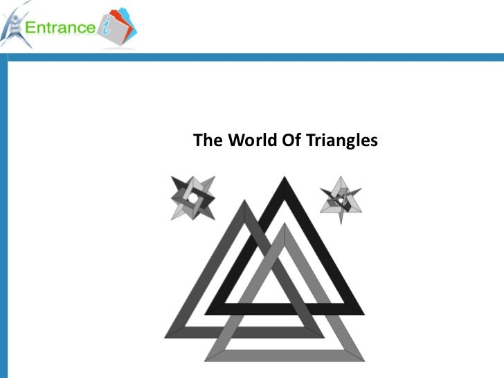 World of triangles   ok12965430821296617954