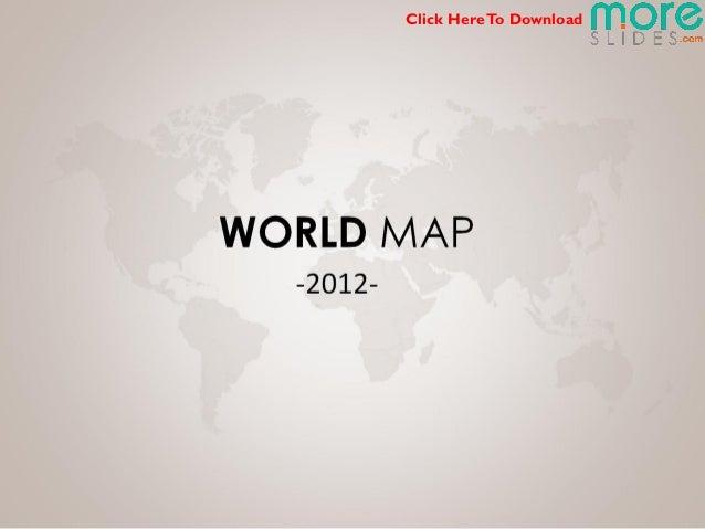 World Oil gas Map   Moreslides.com