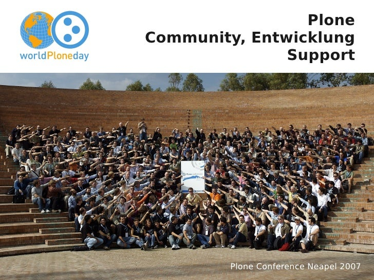 Plone         Community, Entwicklung                        Support     Jens Klein <jens@bluedynamics.com>                ...