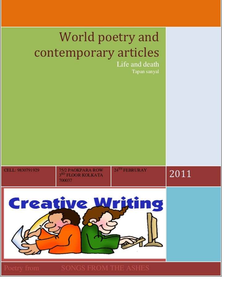 World poetry and             contemporary articles                                        Life and death                  ...