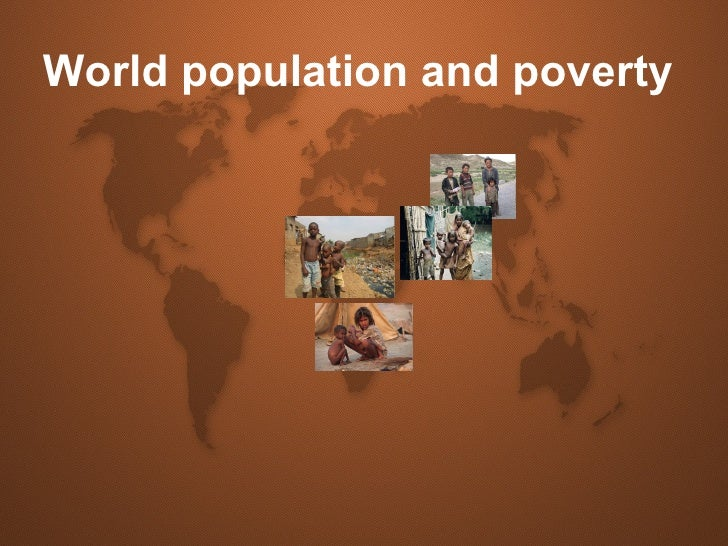World population and poverty