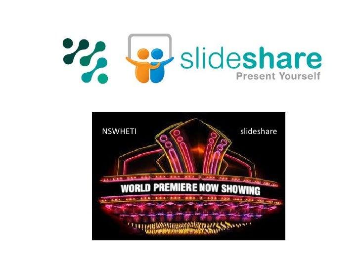 World Premier NSWHETI Media Repository