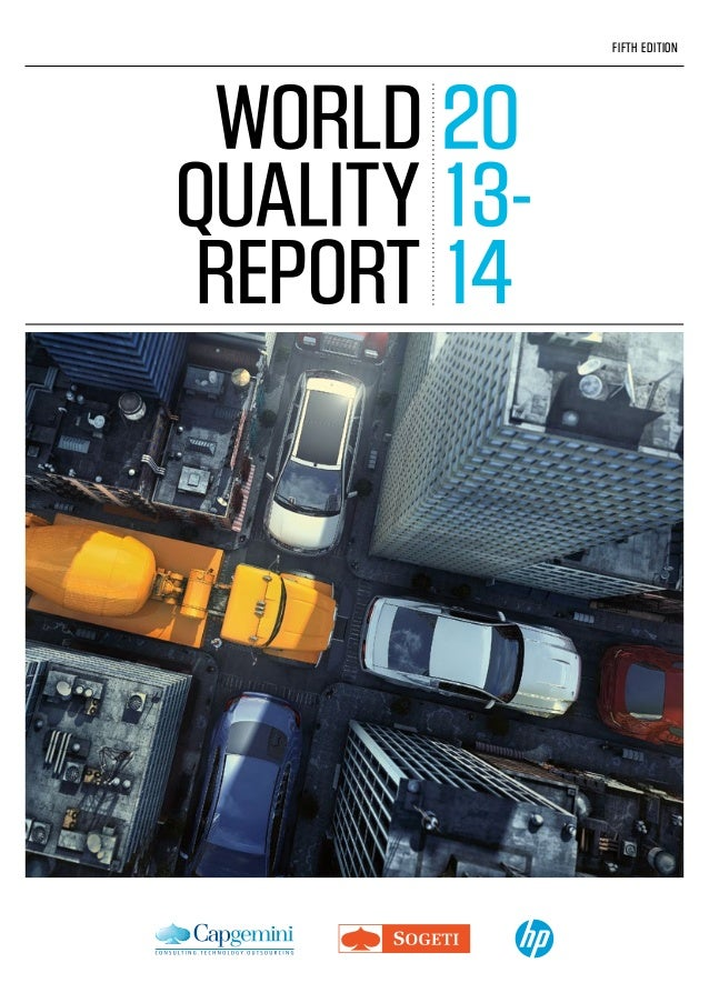World Quality Report 2013 14