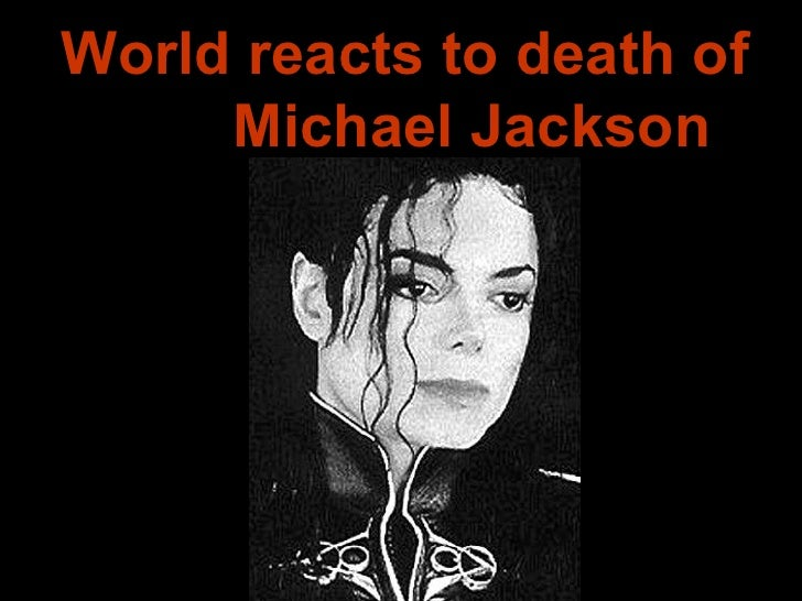 World reacts to death of  Michael Jackson