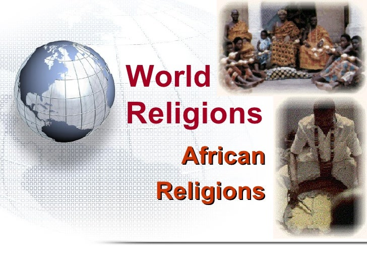 World religions african religions