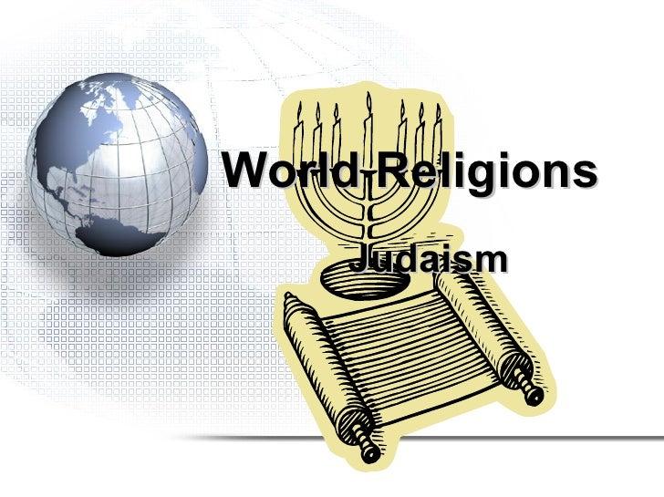 World religions judaism