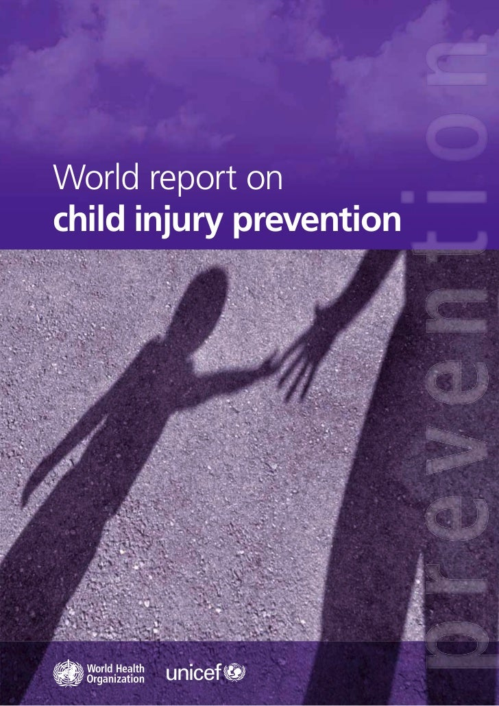 World report onchild injury prevention