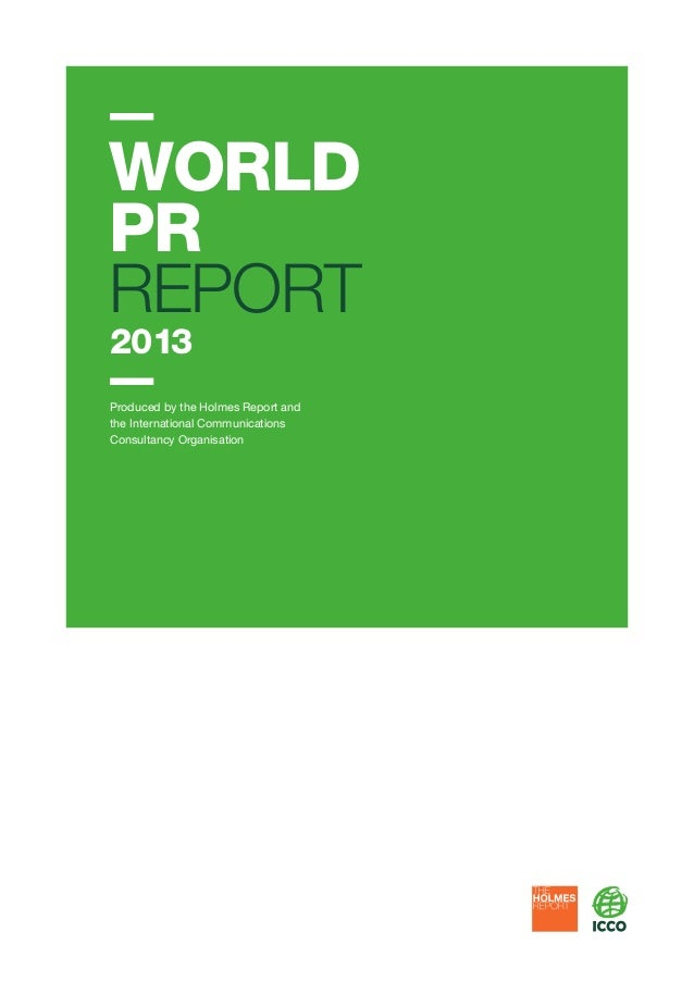 World PR Report 2013