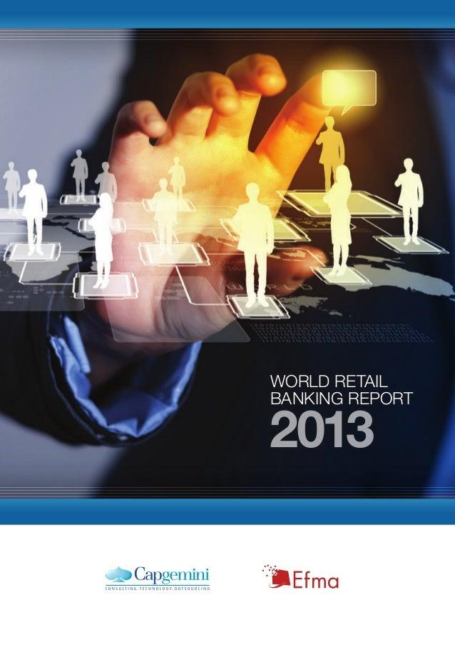 World retail banking report 2013