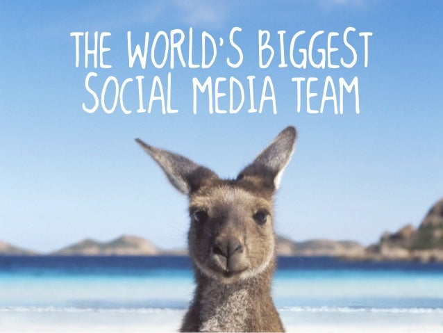 The World's Biggest Social Media Team