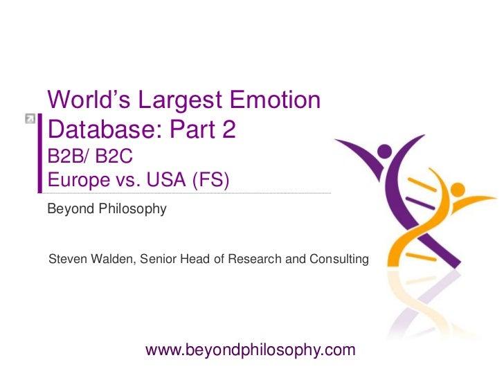Worlds largest database part 2