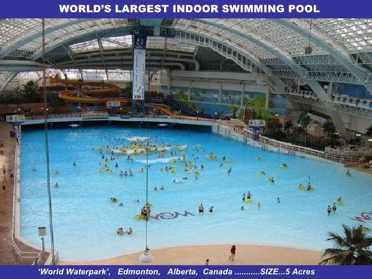 The Gallery For Largest Indoor Pool In The World