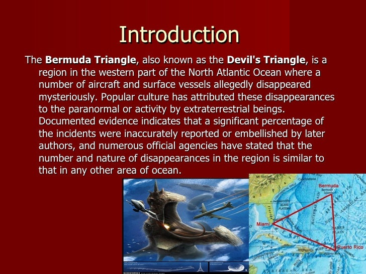 What Is The Bermuda Triangle History Essay