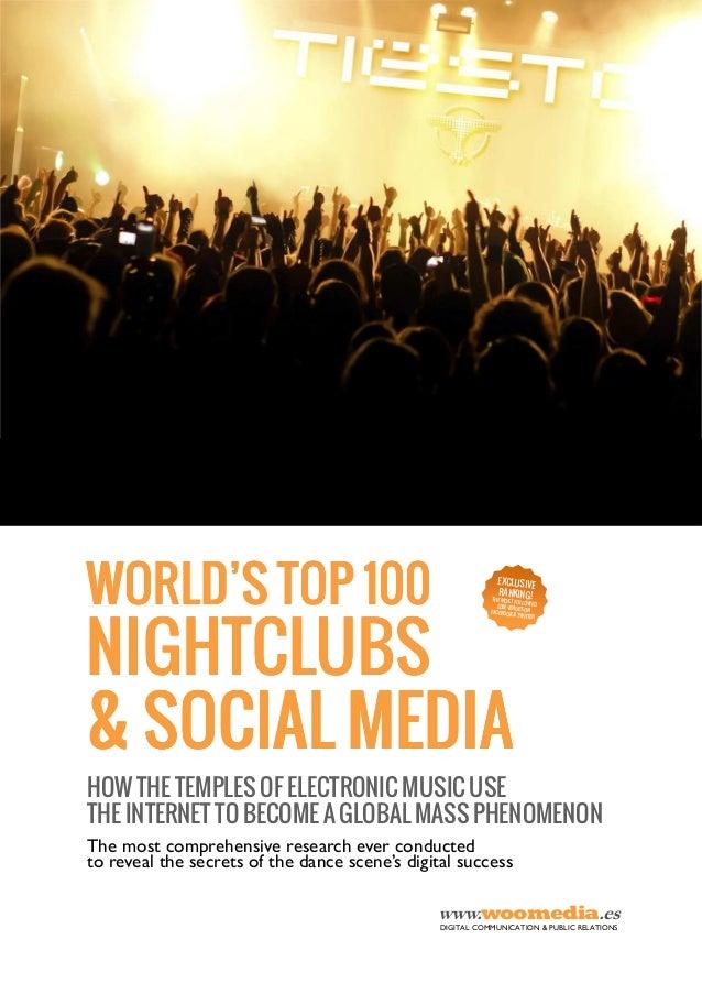 The world's Top 100 nightclubs & social media