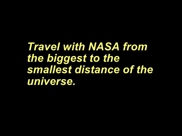 Worlds Tour - Travel with NASA